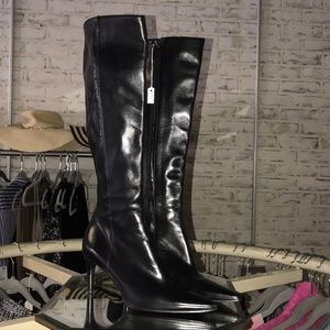 Authentic GUCCI Lambskin Tall High Boots